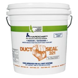Hardcast/Carlisle - DS-321 Gray Solvent Based Duct Sealant 1 gal.