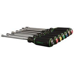 """hilmor - 1839075 - 7 Piece 6"""" Shaft Magnetic Nut Driver Set"""