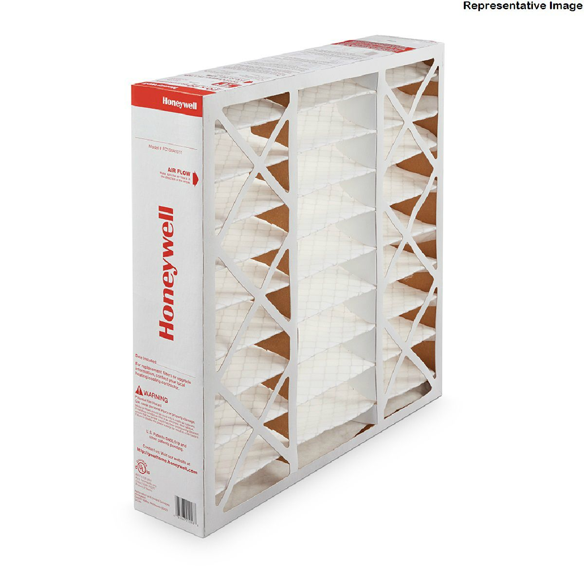"Honeywell FC100A1011  Pleated Filter 20/"" x 20/"" x 4/"" MERV 11"
