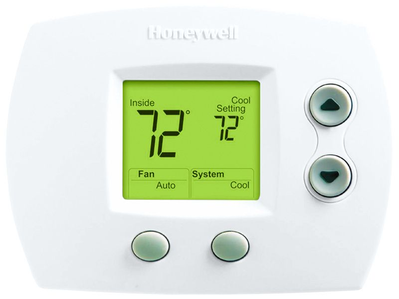 Honeywell th5110d1006 digital non programmable thermostats honeywell th5110d1006u thermostat for 1h1c conventional or heat pump without auxiliary heat sciox Images
