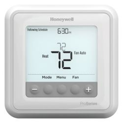 Honeywell - TH6210U2001  T6 Pro Programmable Thermostat with stages up to 2 Heat/1 Cool Heat Pumps or 1 Heat/1 Cool