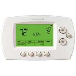Honeywell - TH6320WF1005 FocusPRO® 6000 WiFi Thermostat 3H/2C 7 Day Programmable