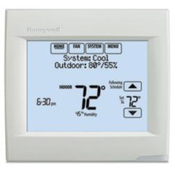 Honeywell - TH8321R1001 All New VisionPRO 8000 With RedLINK Technology - Residential or Commercial Use - 7 Day Programmable.