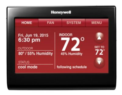 Honeywell th9320wfv6007 digital programmable thermostats carrier on honeywell 9000 thermostat wiring diagram Honeywell V8043E Wiring Trane Heat Pump Wiring Diagram
