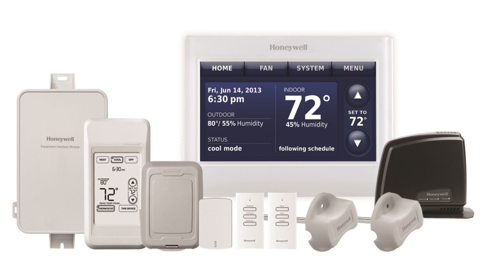 Honeywell YTHX9421R5101WW Communicating Programmable Thermostats ...