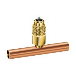 "Jb Industries - Copper Braze Tee 3/8"" ODS X 1/2"" ODF Slip Fit 3/PK"