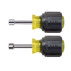 Klein Tools - 610M - Magnetic Tip Nut Driver Set - 1-1/2'' Hollow Shafts
