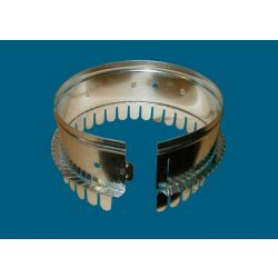 """M&M - 507R89  9"""" #507R8 1-1/2"""" or 2"""" Ductboard Collar with Holes"""