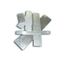 """M&M - NP-5X18 5"""" x 18"""" Notch Plate with 16 Holes"""