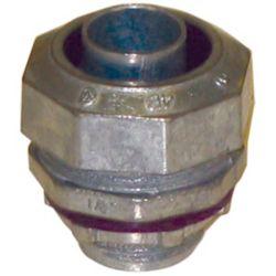 "Liquid Tight Flexible Metallic 1/2"" Straight Connector"
