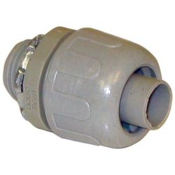 "MARS - 85017 Flexible Liquid Tight PVC Straight Connector 3/4"""