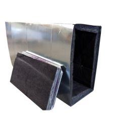 """McDaniel Metals - 23X19X48R - 23"""" x 19"""" x 48"""" Lined Supply Plenum"""