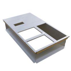 MicroMetl - 0537-014A-00010 Knock Down Curb