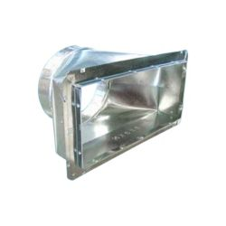 "M&M - 6011489 - 14"" x 8"" x 9"" #601 Register Box with Snap-Rail Flange"