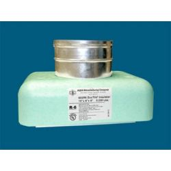 "M&M - 602R6121210 - 12"" x 12"" x 10"" #602R6 DucTite® Register Box with R6"" DucTite® Insulator"