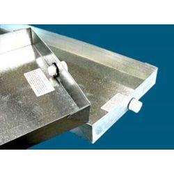 30 x 30 26 Gauge Drain Pan with PVC