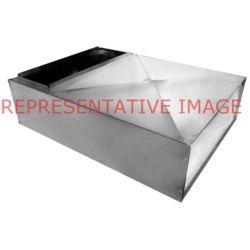 "M&M - PL20X20X48 20"" x 20"" x 48"" Metal Plenum Non-Insulated"