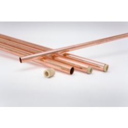"""Streamline - 1-1/8"""" OD x 20' ACR Copper Tube - Charged Under Pressure with 99.9% Pure Nitrogen"""