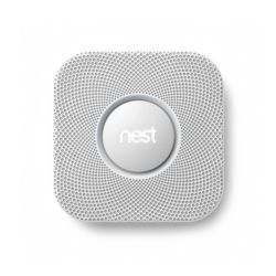Nest Labs - S2001BW  Nest Protect, Smoke and Carbon Monoxide,  Battery, White