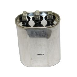 Factory Authorized Parts™ - Oval Run Capacitor 370V-10+10Mfd