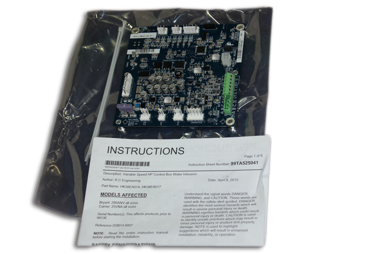 Factory Authorized Parts™ - HK38EA030 Control Board