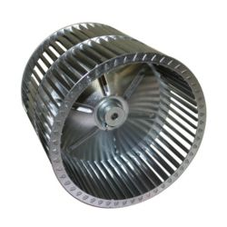 "Factory Authorized Parts™ - LA22LA034  Blower Wheel Width 9-3/8"" Diameter 10-3/4"" Hub Bore 1/2"" Rotation CW Hub End"