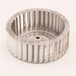 "Factory Authorized Parts™ - LA11XA046  Draft Inducer Blower Wheel Diameter 4-1/2"" Width 1.65"" Bore 1/4"" Rotation CW Hub End"
