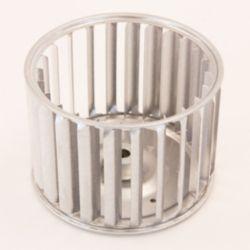 "Factory Authorized Parts™ - LA21RA425  Blower Wheel: Outside Diameter 4 13/64"", Width 2 29/32"",Bore 1/4"", Rotation CW Hub End"