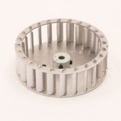 "Factory Authorized Parts™ - LA21RB327  Inducer Wheel: 3-27/32"" Diameter, 1-1/8"" Width, 1/4"" Bore, Rotation CW  Hub End"