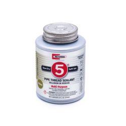 Rectorseal - 25551 - #5 Multi-Purpose Pipe Thread Sealant 1/2 pt.