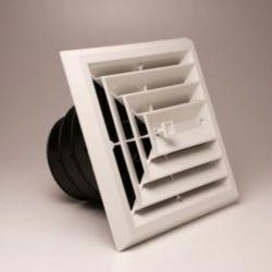 "Rectorseal® - 81913 - MV3 8"" x 8"" 3-Way Grille/Damper/Box 6, 7, 8"" Collar"
