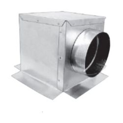 "12""x6""x6"" Side Out Box R6 No Flange 9"" Depth"