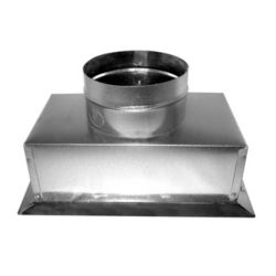 """Southwark - 6"""" x 10"""" x 6"""" Insulated Ceiling Box Top Outlet"""
