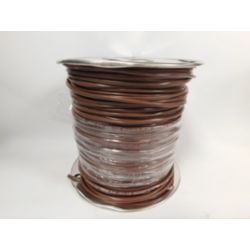 18/3 SOL CU Thermostat Wire (UL) CL2R Brown - Riser Rated, 500'