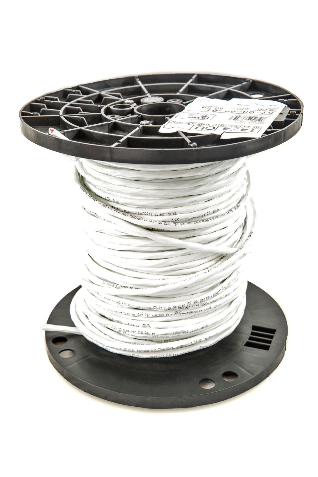 Southwire - 57036401 14/4 STR Shielded Mini-Split Riser Rated CL3R ...