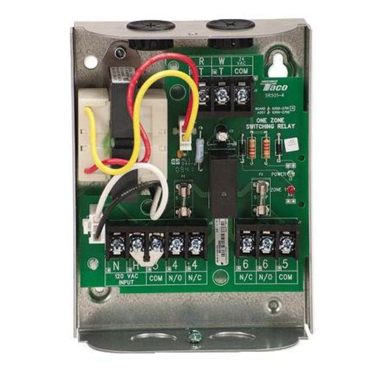 taco 503 switching relay wiring diagram taco sr501 4 hydronic parts and accessories carrier hvac  taco sr501 4 hydronic parts and
