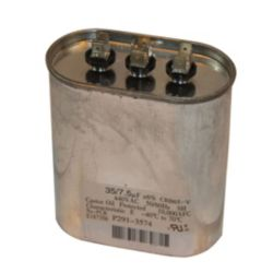 Totaline® - P291-3574 Run Capacitor Oval 370/440V Dual 35/7.5MFD