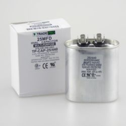TRADEPRO® - TP-CAP-25/440  25 MFD 440 Volt Oval Run Capacitor
