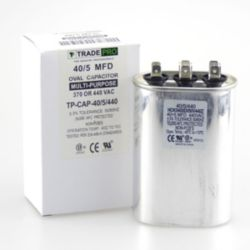 TRADEPRO® - 40+5 MFD 440V Oval Run Capacitor