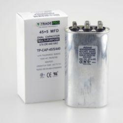 TRADEPRO® - 45+5 MFD 440V Oval Run Capacitor