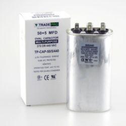 TRADEPRO® - 50+5 MFD 440 Volt Oval Run Capacitor