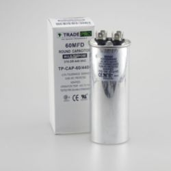 TRADEPRO® - TP-CAP-60/440R  60 MFD 440 Volt Round Run Capacitor