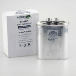 TRADEPRO® - TP-CAP-60/440  60 MFD 440 Volt Oval Run Capacitor