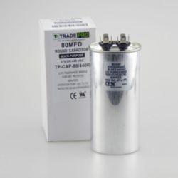 TRADEPRO® - TP-CAP-80/440R Round Run Capacitor 80 MFD 440V