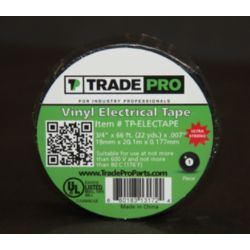 "TRADEPRO® TP-ELECTAPE 3/4"" x 66' Electrical Tape"