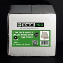 TRADEPRO® - TP-TOWEL-SHOPWHT White Shop ToweLS Tube 3-1/2 lb.