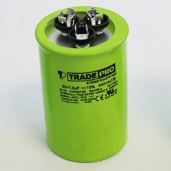 TRADEPRO® - TP-CAP-35/5/440USA-R  35/5 MFD 440/370V Round Capacitor (Made in USA)
