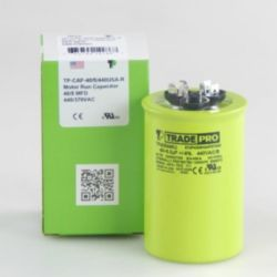 TRADEPRO® - TP-CAP-40/5/440USA-R  40/5 MFD 440/370V Round Capacitor (Made in USA)