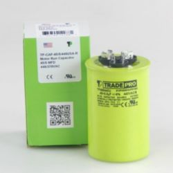 TRADEPRO® - TP-CAP-45/5/440USA-R  45/5MFD 440/370V Round Capacitor (Made in USA)
