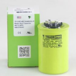 TRADEPRO® - TP-CAP-45/7.5/440USA-R  45/7.5MFD 440/370V Round Capacitor (Made in USA)